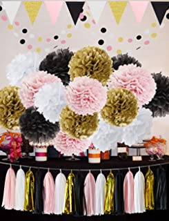 Best pink gold theme party Reviews