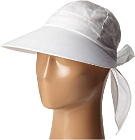 4ff3b0ce64962 SCALA Paper Braid Facesaver with Ribbon Bow at Zappos.com