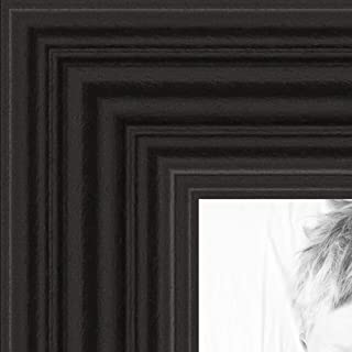 ArtToFrames 10x30 inch Black Stain on Red Leaf Maple Wood Picture Frame, 2WOM0066-60823-YBLK-10x30