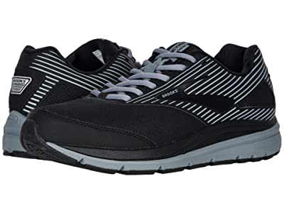 Brooks Addiction Walker Suede (Black/Primer/Black) Men