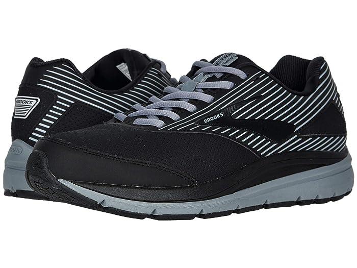 Brooks  Addiction Walker Suede (Black/Primer/Black) Mens Walking Shoes