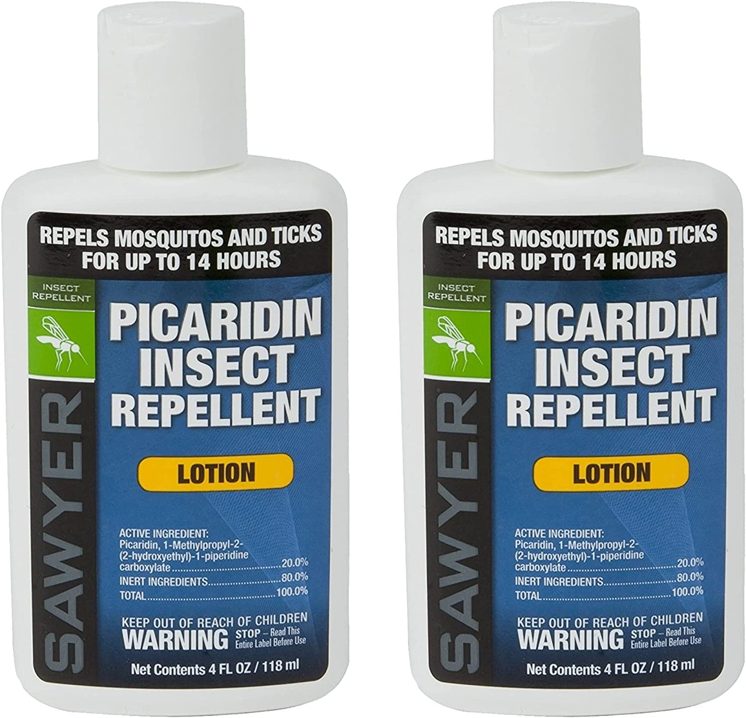 Sawyer Products SP5642 20% Picaridin Insect Repellent, Lotion, 4-Ounce, Twin Pack: Sports & Outdoors