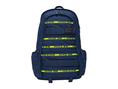 Nike SB RPM Backpack (Midnight Navy/Midnight Navy/Anthracite) Backpack Bags