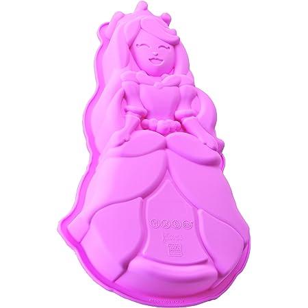 Silikomart 20.336.23.0065 SFT336 Moule à Gâteaux Forme Princesse Silicone Rose