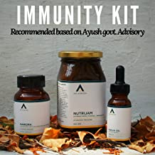 Age Ayurveda Immunity Kit Recommended Based On Ayush Govt. Advisory (Nutrijam)