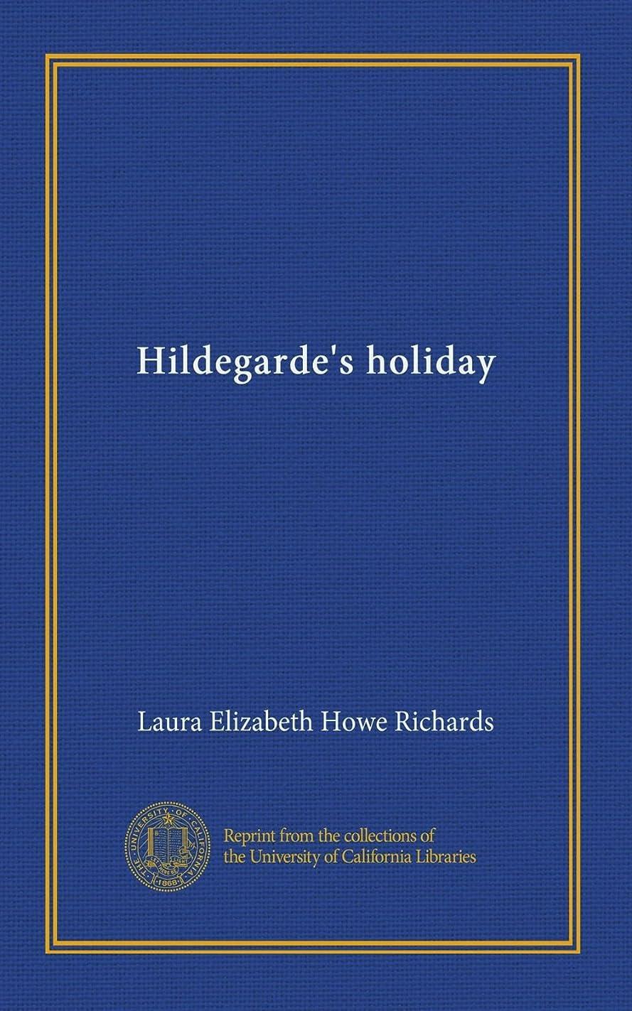 脊椎クライアント運河Hildegarde's holiday