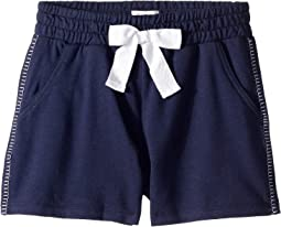 Blanket Stitch Shorts (Big Kids)