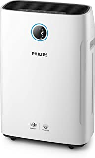 Philips Luchtbevochtiger & Luchtreinigercombi Series 2000i - Geschikt voor ruimtes tot 65 m2 - Bevochtiginsgraad van 500 m...