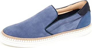 Hogan F6110 Sneaker Uomo Light Blue R260 Scarpe Slip on Shoe Man