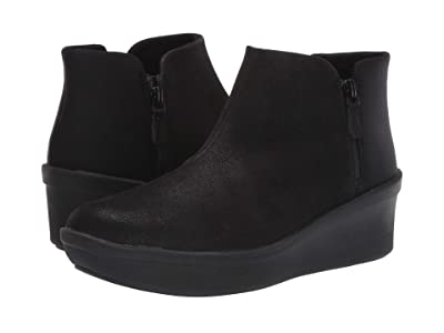 Clarks Step Rose Up (Black Textile) Women