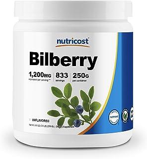 Nutricost Bilberry Powder 250 Grams - Gluten Free and Non-GMO