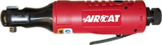 """AIRCAT 804 One Piece All Steel Ratchet, Small/1/4"""", Red"""