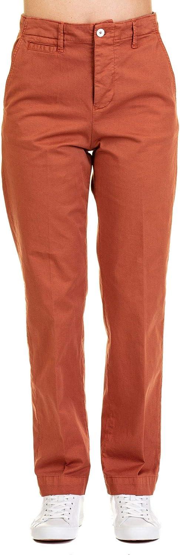 Manuel Ritz Women's 2636PD21T19405328 orange Cotton Pants