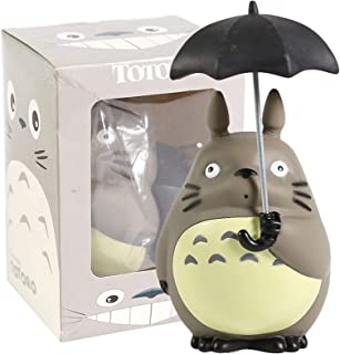 Anime Figure My Neighbor Totoro With Umbrella Pvc Figure Brinquedo Cute Doll Toy Birthday Gift SONG
