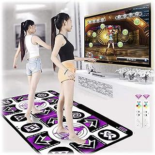 Double Dancing Mat, Dance Mat for Kids and Adults, Electronic Dancing Game Mat, Non-slip Yoga Dancer Step Pads, Sense Game...
