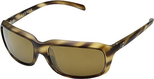 Driftwood Brown 12-Polarized Gold Mirror