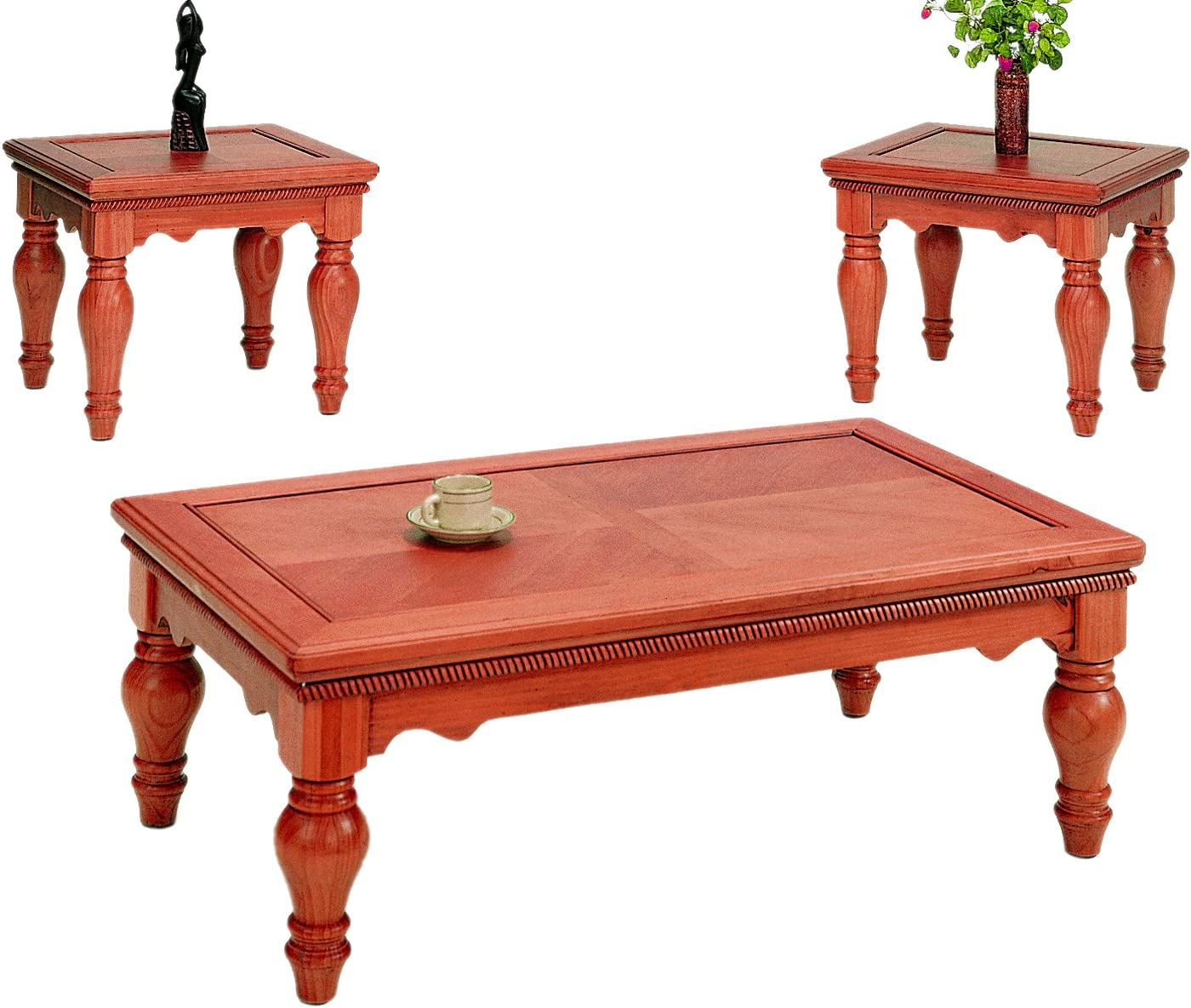 Max 41% OFF Frenchi Home 5% OFF Furnishing 3-Piece Coffee Table Set