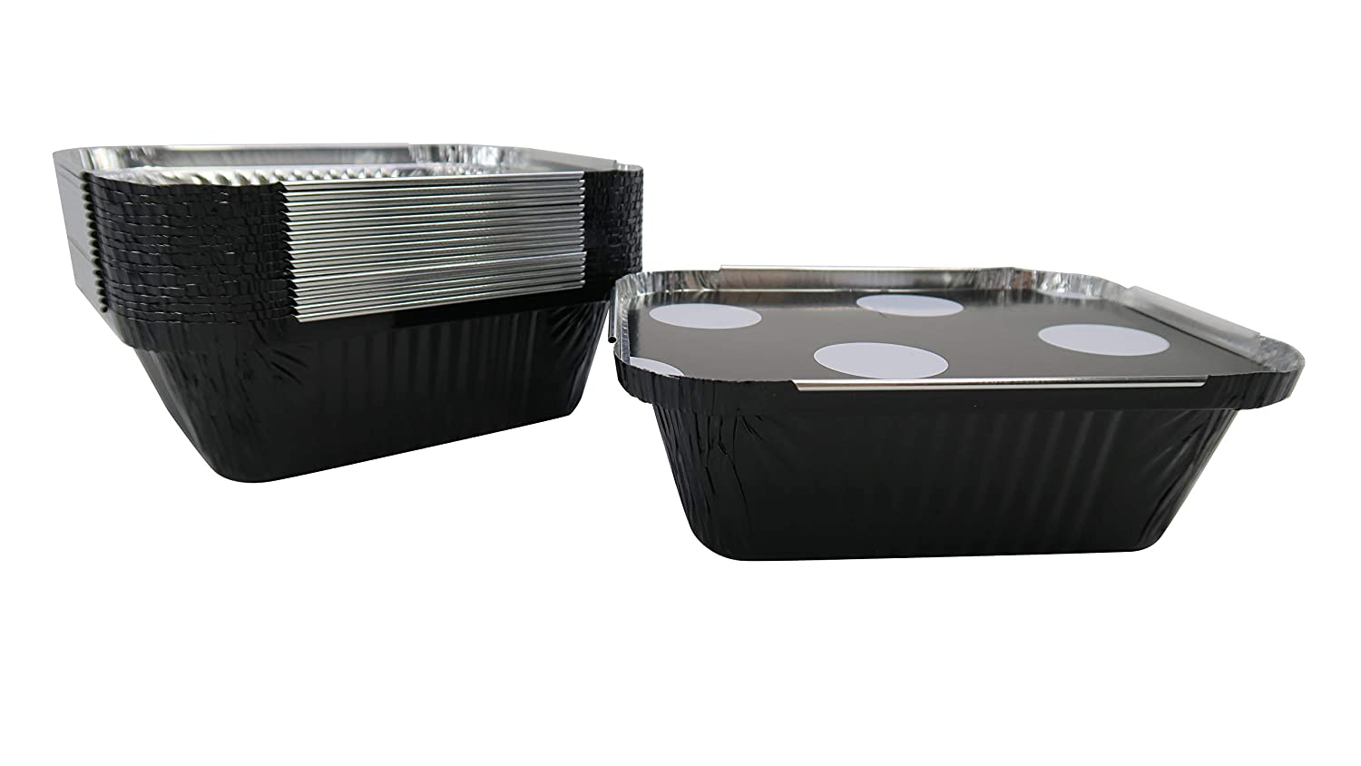 KitchenDance Disposable Black 大幅値下げランキング セール特価品 Aluminum Take Board with Out Trays