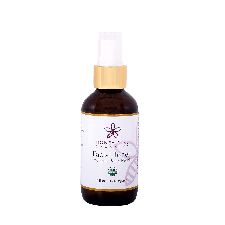 Limited price sale Honey Girl Organics Facial Fluid Ounce 4.0 San Diego Mall Toner