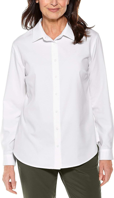 Coolibar UPF 50+ Women's Super beauty product restock quality top! Hepburn NEW - Sun Shirt Protective