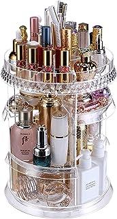 Ogrmar Adjustable 360 Degree Rotating Makeup Organizer Tray/Large Capacity Cosmetics Carousel Spinning Holder Storage Rack...