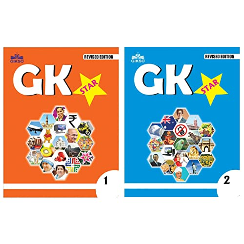 Gikso GK Star Combo of Class 1 and 2 Age 4-7 Years Old Kids Pack of 2 Books