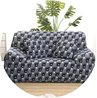 better-caress Sofa Cover Cotton Elastic slipcovers Big Elasticity Couch Cover loveseat Corner sectional Sofa Covers for Living Room funda Sofa,Cr 11,2-Seater 145-185cm