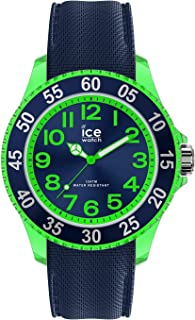 Ice-Watch - Ice Cartoon Dino - Montre Bleue pour Fille avec Bracelet en Silicone - 017735 (Small)