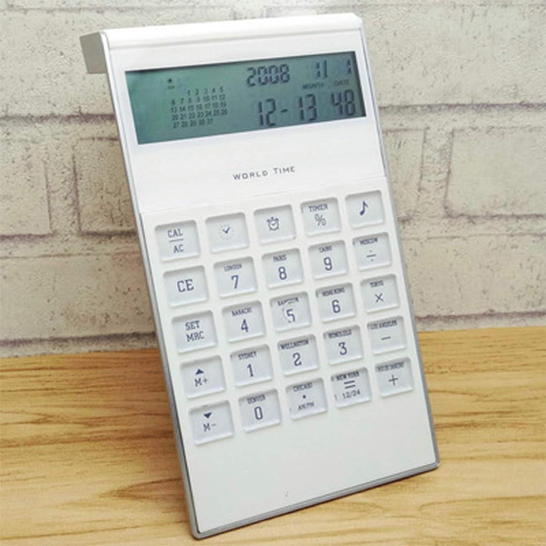 植物の満足できる拒否オフィス用学校の財政、等のために適した電池式の小型小さい携帯用計算機