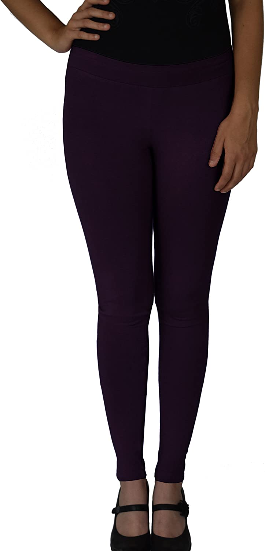 Ayurvastram Cotton Spandex, Stretchable, 28in Inseam Regular Length Full Leggings
