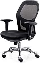 Office Chair,Ergonomic Office Chair of High Back Mesh Lumbar Support,Desk Chairs with Wheels and Arms for Adults Backing P...