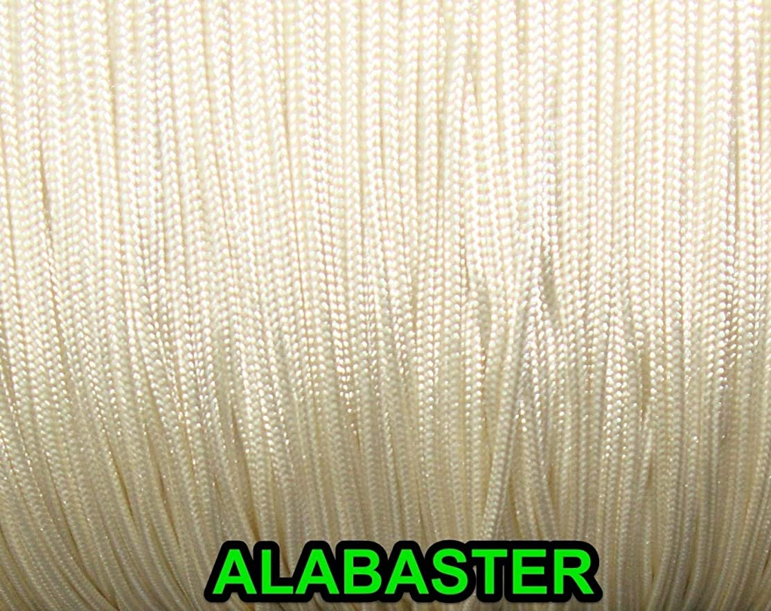 100 YARDS: 1.8 MM Professional Lift Cord for Blinds and Shades , ALABASTER