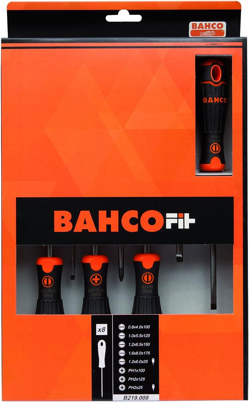 Bahco B219.008 Fit Schraubendreher-Set Schlitz Ph 8-teilig B016QHPEQU   Attraktives Aussehen