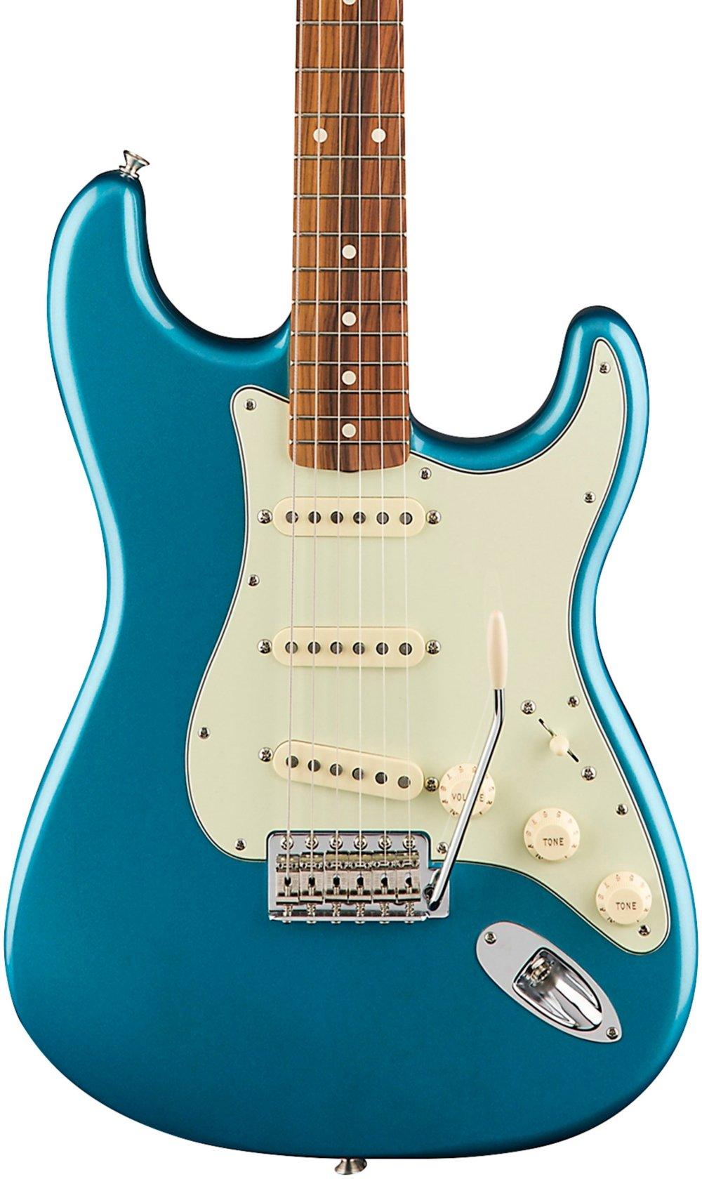 Cheap Fender Classic Series 60 s Stratocaster Electric Guitar - Pau Ferro Fingerboard - Lake Placid Blue Black Friday & Cyber Monday 2019