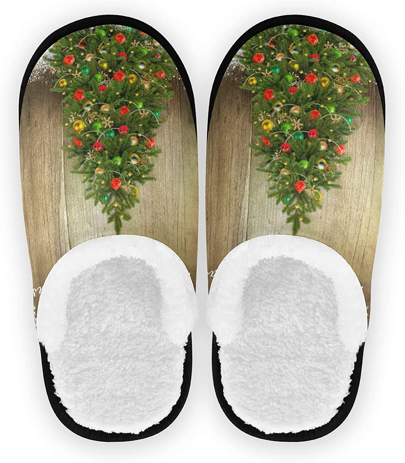 Merry Choice Christmas Comfy House Slippers Bird Gifts Genuine Free Shipping C Tree