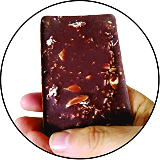 5 Keto BAR Keto Snacks - Raw Almond Organic Coconut Dark Chocolate Gluten Free Sugar Free Low CARB Keto Vegan Keto Snacks! - 5 Bars - 5 Keto Fat Bomb Keto Snacks Keto Meals!