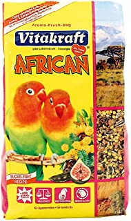 Vitakraft African Casual Food for Lovebirds and Small African Parrots, 750 gm