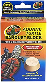 Zoo Med Block Value Pack for Aquatic Turtle, 2.25 oz, 5 Count