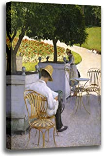 Canvas Print Wall Art - The Orange Trees - Gustave Caillebotte - Giclee Printed on Stretched Gallery Wrap - 12x16 inch