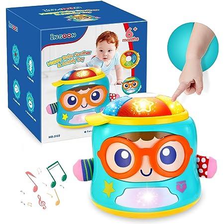 Insoon Juguetes Para Bebés Juguetes Musicales Para Niños De 6 12 A 18 Meses De Edad Niños Niñas Juguetes Electrónicos Con Luces Y Sonidos Juguetes Musicales Para Niños De Aprendizaje Temprano