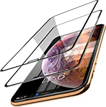 TOZO for iPhone Xs / 11 Pro Screen Protector [ 3D Bent Full Frame ] Premium Tempered Glass (2 Pack) 9H Hardness for iPhone X / 11 Pro 5.8 inch with [Easy Installation Tool]