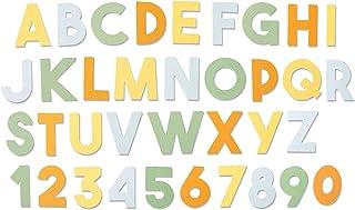 Sizzix Matrice de découpe Bigz XL 664385 Alphabet épais de Emily Tootle, Multicolore, Taille unique