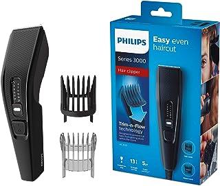 Philips Hårklippare Hairclipper Series 3000 - Blad i rostfritt stål - 13 längdinställningar - Användning med sladd - Utan ...