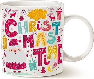 MAUAG Santa Claus Funny Coffee Mug Unique Christmas Gifts -