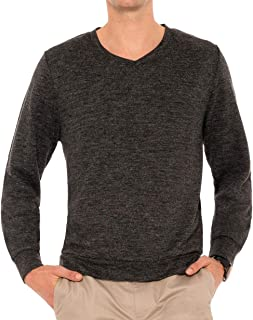Sponsored Ad - Mens V Neck Sweater - Moisture Wicking Dry Fit - Lightweight Fashion Sweaters