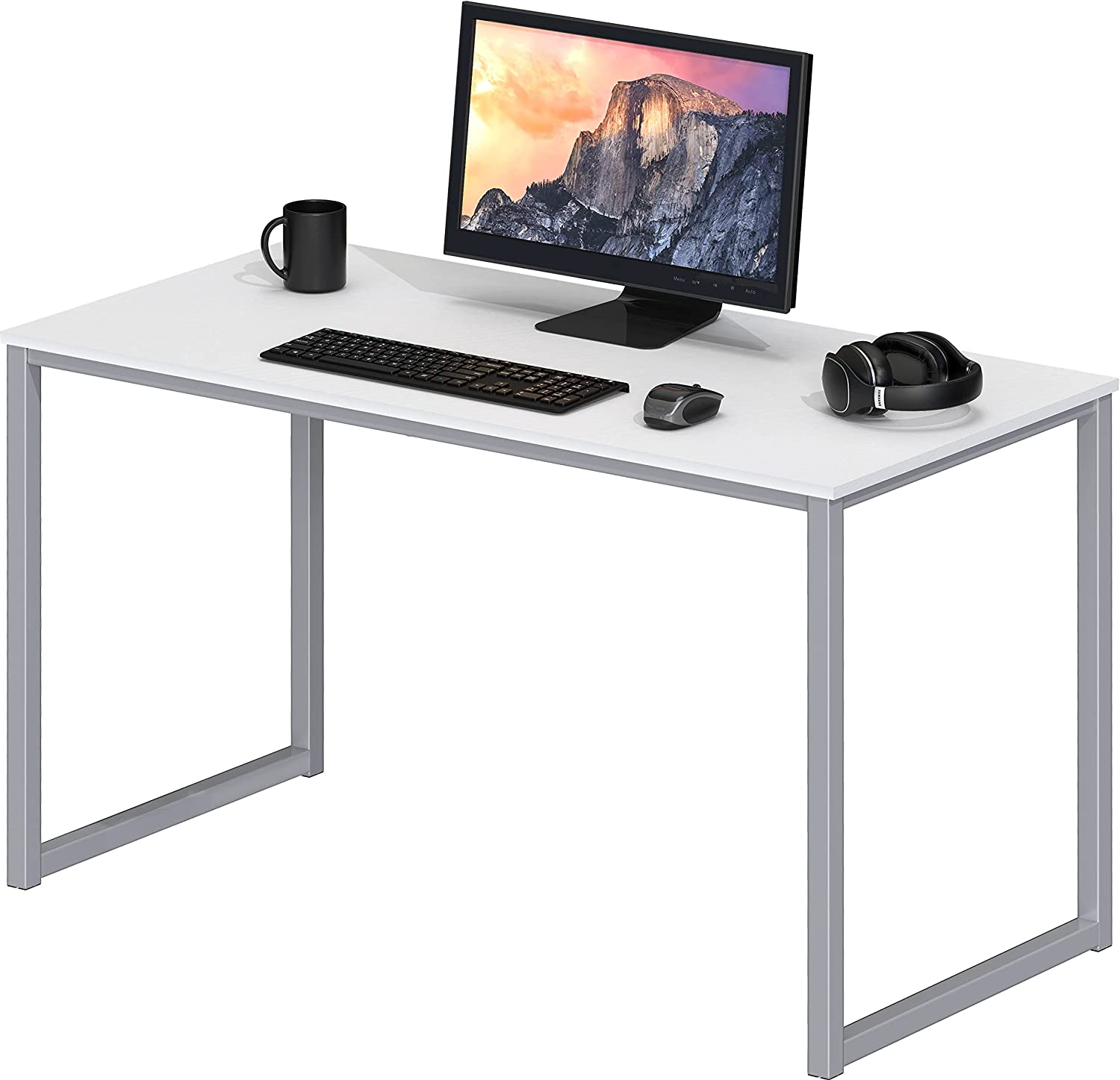 SHW Home Office 40-Inch Computer Desk, White