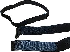 5 stuks. Klittenband riemen klittenband met oog/gesp klittenbandsluiting expander riemen - bevestigen, sjorren & fixeren 4...