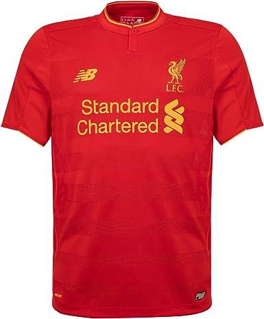 New Balance Liverpool FC 2016/17 Short Sleeve Home Jersey