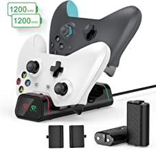 Xbox One Controller Charger, 2 × 1200mAh Xbox One...