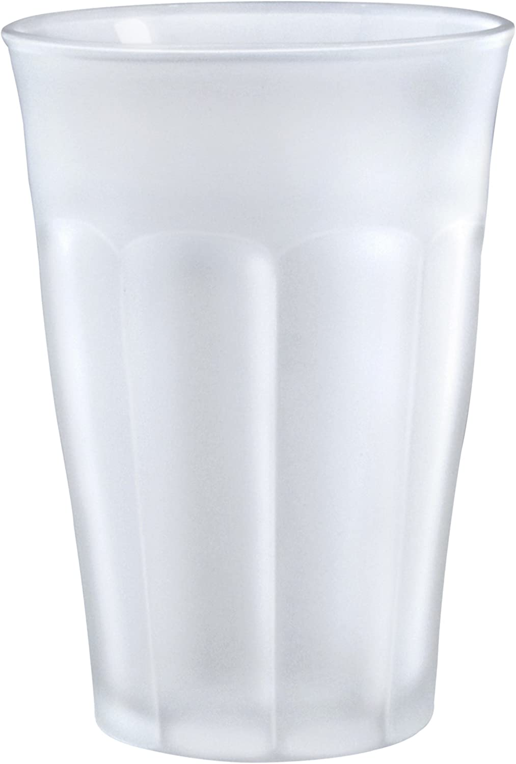 Duralex 1029SR06 6 Picardie Frosted Glass Tumbler, 12.625 oz,